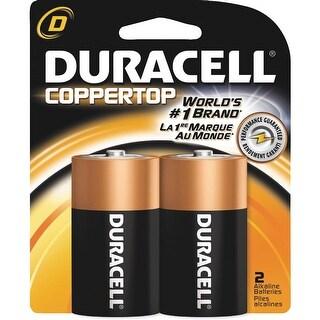Duracell 2Pk D Alkaline Battery