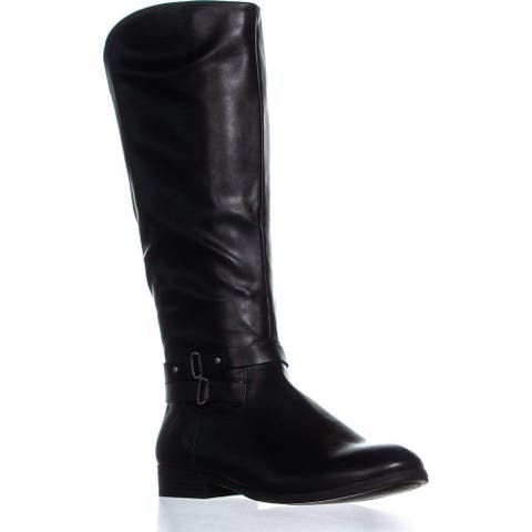 Style & Co. Womens Round Toe Knee High Riding Boots