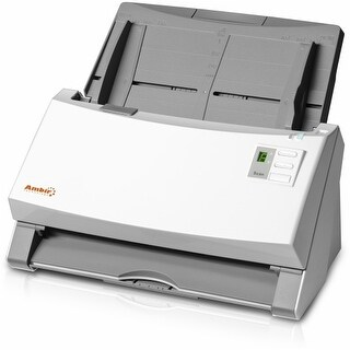 Ambir DS930-AS Ambir ImageScan Pro 930u Sheetfed Scanner - 600 dpi Optical - 48-bit Color - 16-bit Grayscale - 30 - 30 - USB