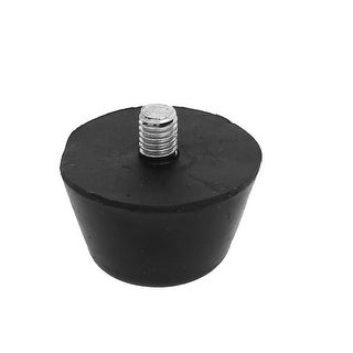 Unique Bargains Machine Furniture M8x10mm Male Threaded Rubber Base Leveling Feet Foot