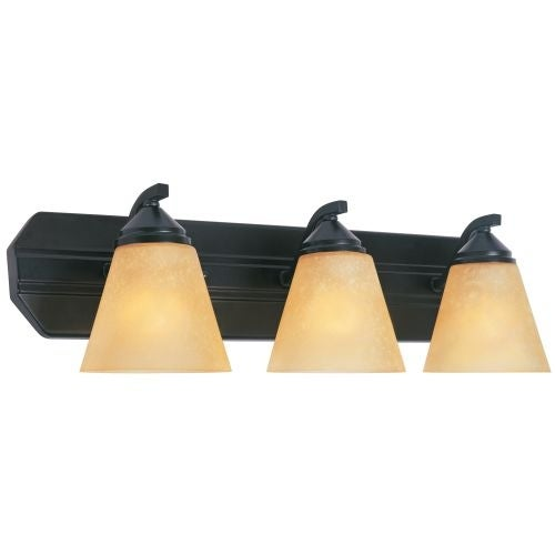 Designers Fountain 6603 300 Watt Three Light Bathroom Fixture from the Piazza Collection