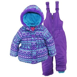 Pink Platinum Little Girls Snowsuit Fair Isle Jacket with Solid Snow Ski Bib|https://ak1.ostkcdn.com/images/products/is/images/direct/3185ba369e2c15c94337f2aa6949bb644826a273/Pink-Platinum-Little-Girls-Snowsuit-Fair-Isle-Jacket-with-Solid-Snow-Ski-Bib.jpg?impolicy=medium