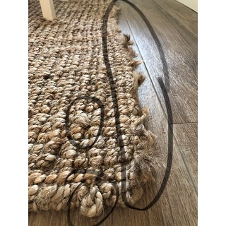 Shop Safavieh Handmade Natural Fiber Barbados Chunky Thick