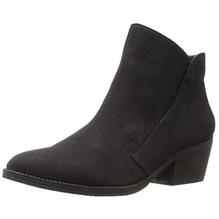 Madden Girl Womens Boloo Booties Faux Suede Ankle