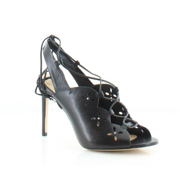 Michael Kors Thalia Dress Sandals Women's Heels Black