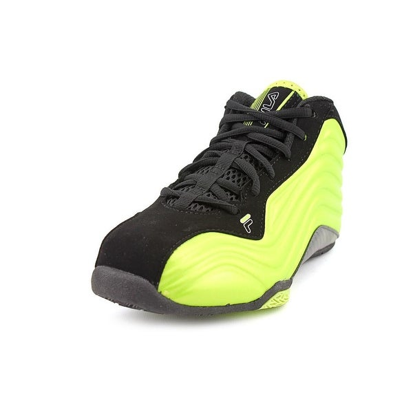 Fila Vindicator Youth  Round Toe Synthetic Green Basketball Shoe