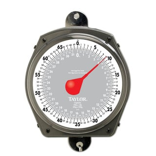 Taylor 34704104 Industrial Hanging Dial Scale, 70 lbs