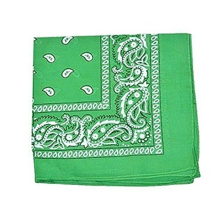 Link to 8 Pack Qraftsy 100% Cotton Extra Large Multi Use Paisley and Plain Stylish Printed Bandana - One Size Similar Items in Hair Accessories
