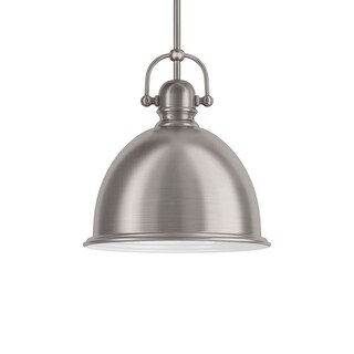 "Park Harbor PHPL5441 13"" Wide Single Light Single Pendant with Industrial Style Shade"