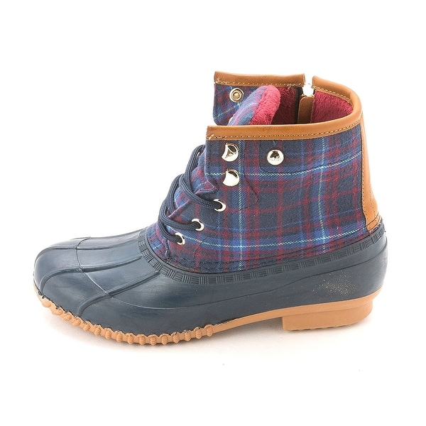 Tommy Hilfiger Womens Roan Suede Cap Toe Ankle Cold Weather Boots