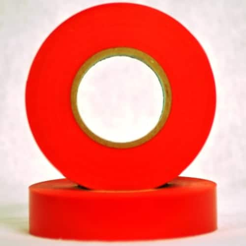 Christmas at Winterland WL-ETape-RE Electrical Tape, Red Indoor / Outdoor