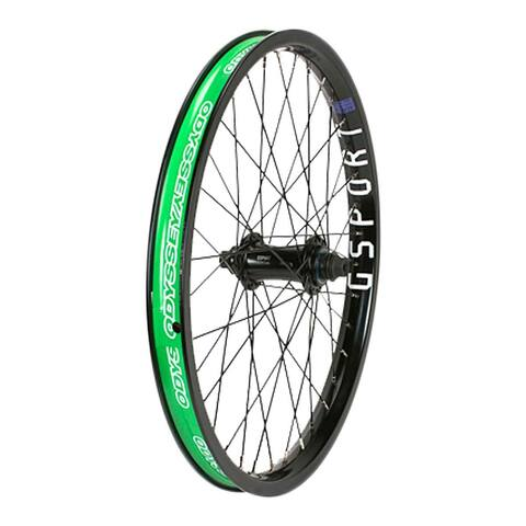 Odyssey Wheel Front 20X1.75 406X29 G-Sport Elite 3/8-36 Black - GSWW-710F-HBK