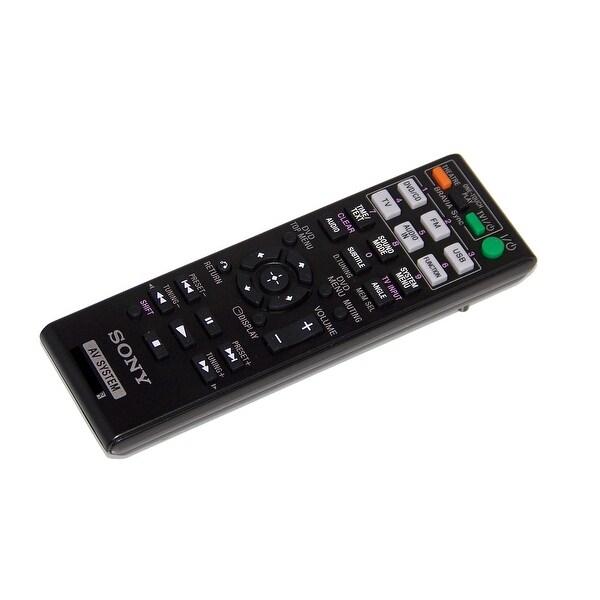 OEM Sony Remote Control Originally Shipped With: DAVTZ210, DAV-TZ210, DAVTZ215, DAV-TZ215, DAVTZ510, DAV-TZ510