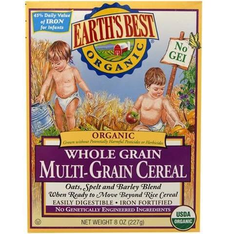 Earth's Best - Organic Multi-Grain Cereal ( 12 - 8 OZ)