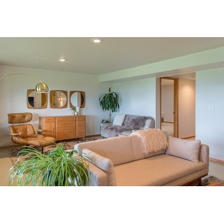 shop metz contemporary white fabric loveseat free. Black Bedroom Furniture Sets. Home Design Ideas