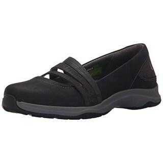 Ahnu Womens Merritt Leather Round Toe Mary Janes - 8.5 medium (b,m)