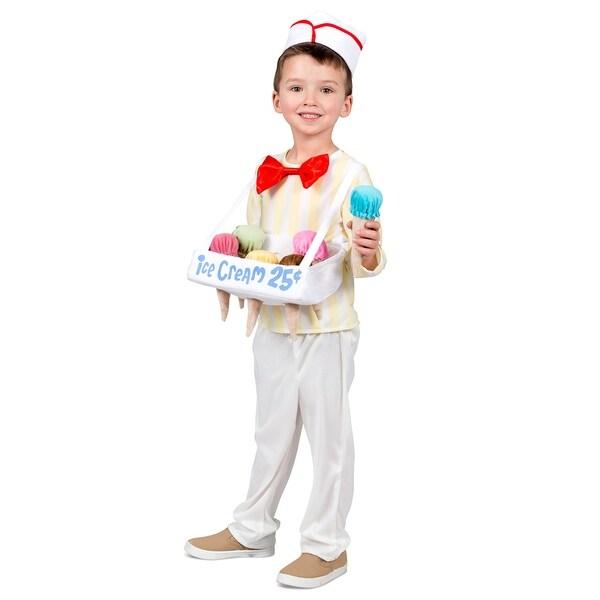kids ice cream cone salesman halloween costume