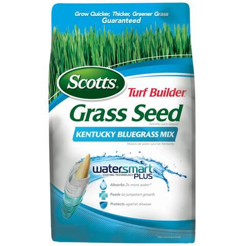 Scotts 18269 Turf Builder Grass Seed Kentucky Bluegrass Mix, 7 Lbs