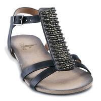 Women's Friendship Safety Pin Gladiator Sandals