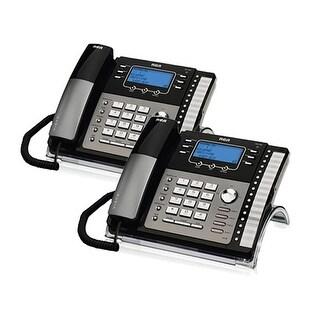 RCA ViSYS 25424RE1 (2-Pack) RCA 4-Line EXP Speakerphone w/ CID