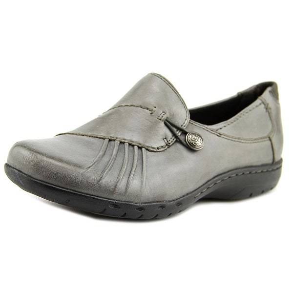 Cobb Hill Paulette Women Round Toe Leather Gray Loafer