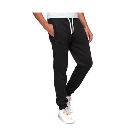 SuperDry Men's Pants Black Size XL Activewear Orange Label Joggers
