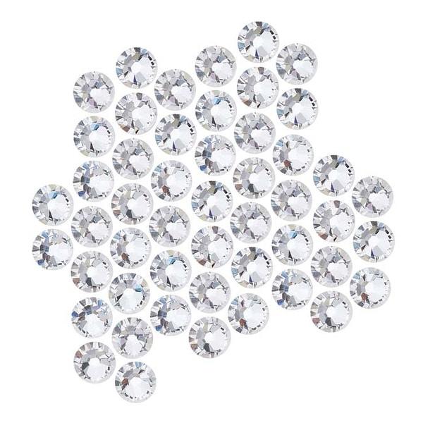 Swarovski Elements Crystal, Round Flatback Rhinestone SS20 4.6mm, 50 Pieces, Crystal