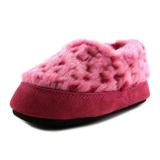 Acorn Kids Moc   Round Toe Synthetic  Slipper