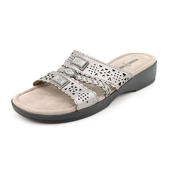 Minnetonka Gayle Women Pewter Sandals