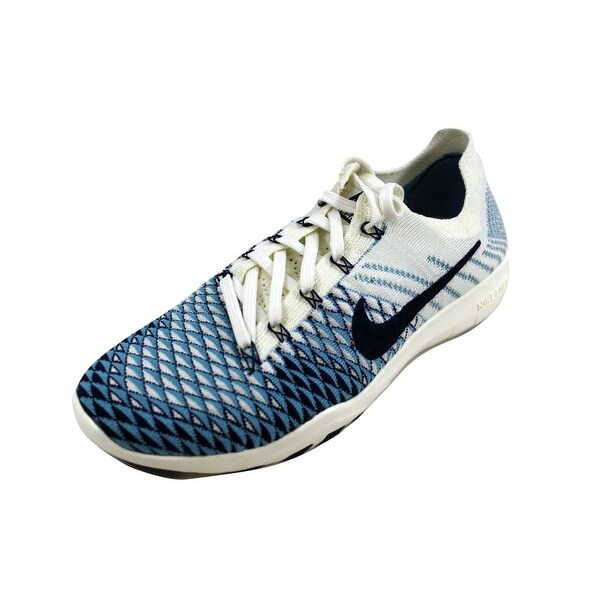 c1b317208f5f Shop Nike Women s Free TR Flyknit 2 Indigo Sail College Navy ...