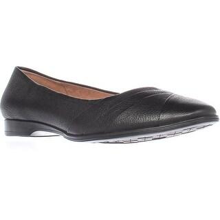 naturalizer Jaye Comfort Flats, Black Leather