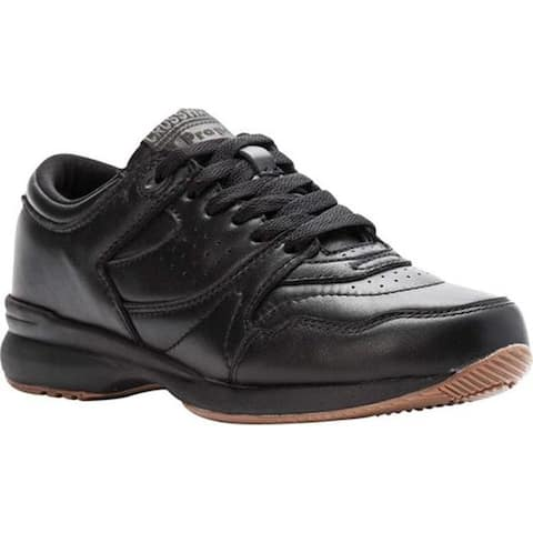 Propet Women's Cross Walker Shoe Black Leather