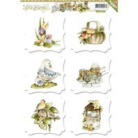 Find It Trading Precious Marieke 3D Topper Sheet-Springtime