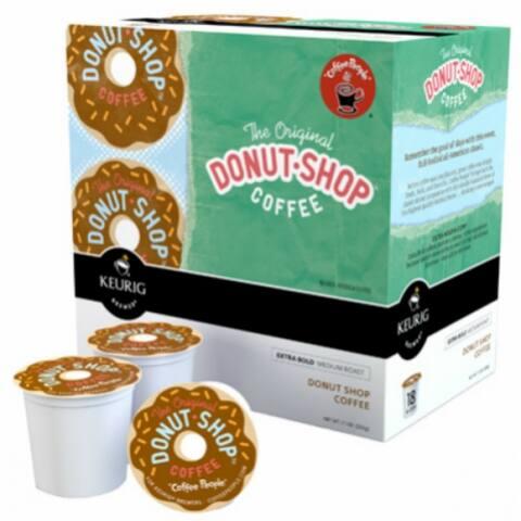 Keurig 00732 The Original Donut Shop Coffee K-Cups, 18-Count