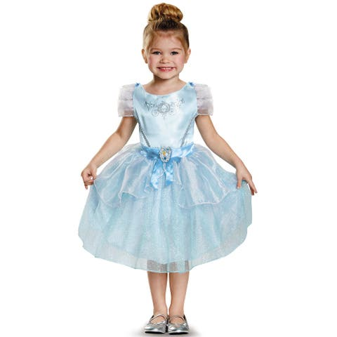 Disguise Cinderella Classic Toddler Costume - Blue