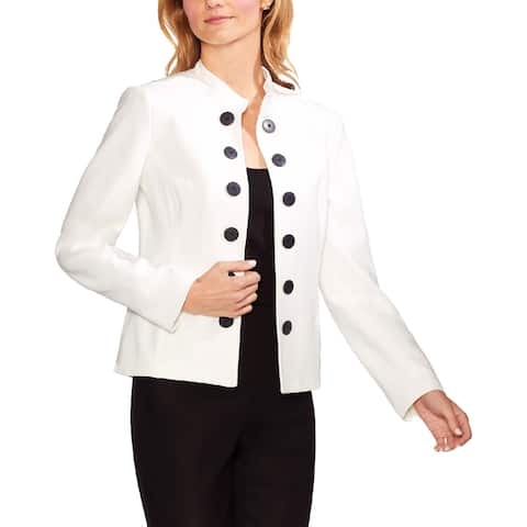 Vince Camuto Womens Jacket Stand Collar Business