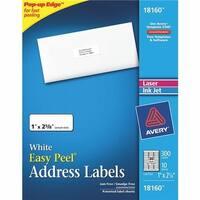 Avery Products 300Pk 1X2-5/8 Mail Label 18160 Unit: PKG