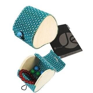 JAVOedge Rounded Small Bamboo Travel Jewelry Box