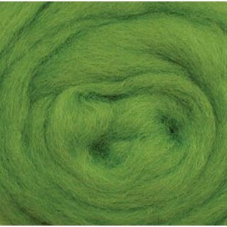 "Lime - Wool Roving 12"" .22Oz"