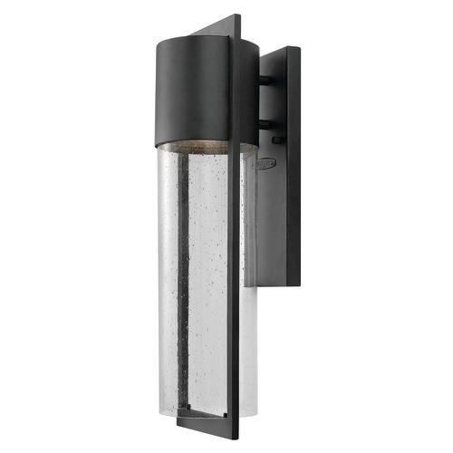 """Hinkley Lighting 1324 20.5"""" Height 1 Light Dark Sky Outdoor Wall Sconce from the Shelter Collection"""