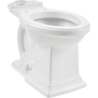 American Standard 3271.101  Town Square S Elongated Chair Height Toilet Bowl Only