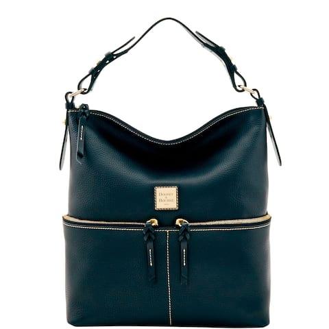 Dooney & Bourke Pebble Grain Zipper Pocket Sac Shoulder Bag (Introduced by Dooney & Bourke in May 2017)