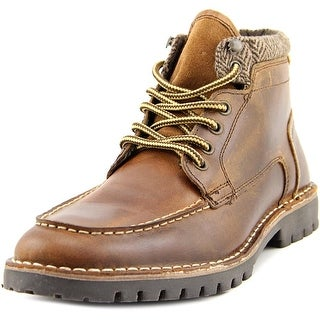 Steve Madden Nickname Round Toe Leather Boot