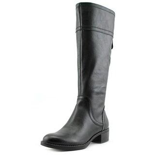 Women 39 s franco sarto carlano boot black araucano crust for Franco sarto motor over the knee boots