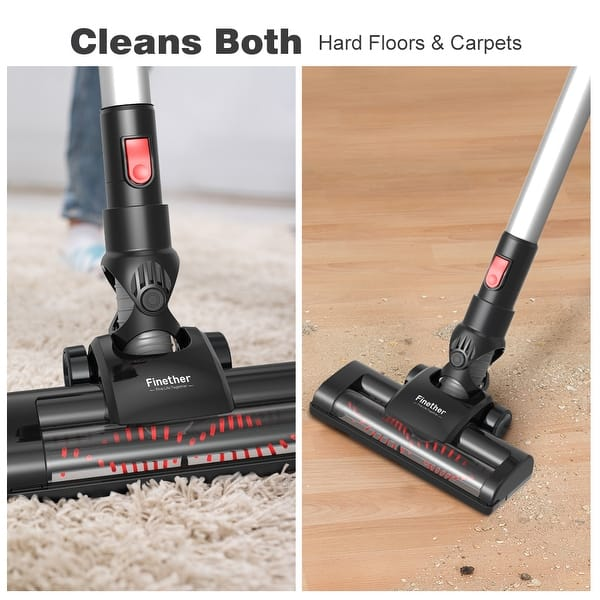 Finether Cordless Stick Vacuum Cleaner