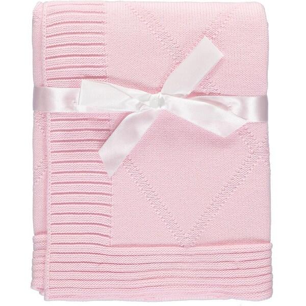 Baby Dove Unisex Baby Diamond Knit Blanket - Ivory