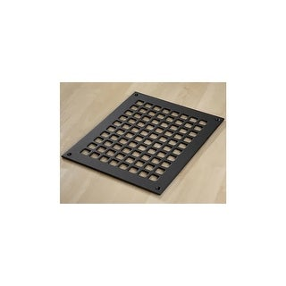 "Reggio Registers G1012-SNH Grid Series 10"" x 8"" Floor Grille without Mounting Holes"