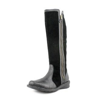 Clarks Nikki Park Round Toe Suede Knee High Boot