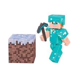 "Minecraft 3"" Action Figure: Alex with Diamond Armor Pack - multi"