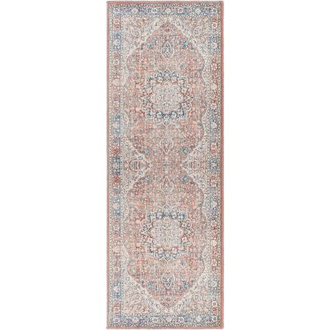 Mozhdeh Traditional Printed Area Rug